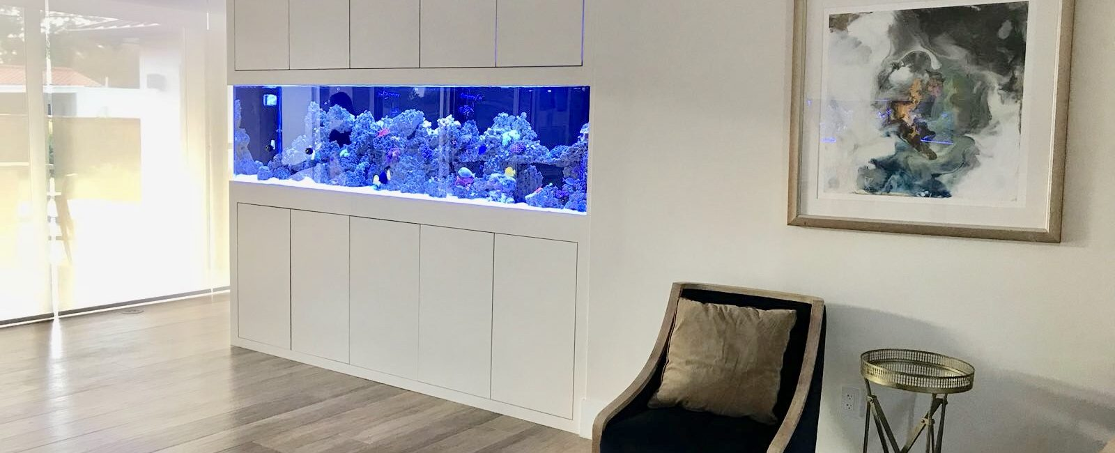 Modern Home Aquarium Ideas Adornment - Home Decorating Ideas ...